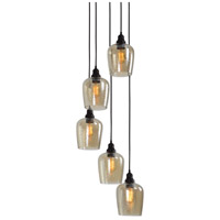 Uttermost 22119 Aarush 5 Light 18 inch Oil Rubbed Bronze Pendant Ceiling Light