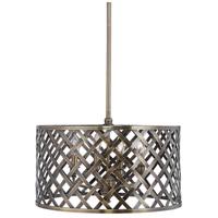 Uttermost 22123 Grata 4 Light 20 inch Aged Brass Pendant Ceiling Light