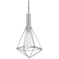Uttermost 22124 Proteus 1 Light 7 inch Brushed Nickel Mini Pendant Ceiling Light 22124_A.jpg thumb