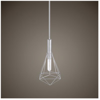 Uttermost 22124 Proteus 1 Light 7 inch Brushed Nickel Mini Pendant Ceiling Light 22124_Lifestyle.jpg thumb