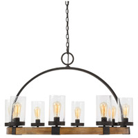 Uttermost 22133 Atwood 8 Light 39 inch Manhattan Finish Pendant Ceiling Light