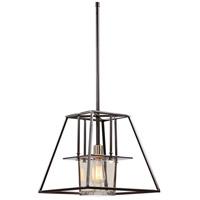 Uttermost 22166 Rittman 1 Light 14 inch Dark Bronze Pendant Ceiling Light