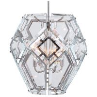 Uttermost Polished Nickel Glass Pendants