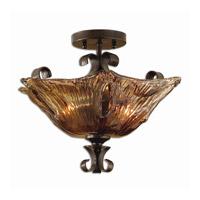 Uttermost 22200 Vetraio 2 Light 17 inch Oil Rubbed Bronze Semi Flush Mount Ceiling Light