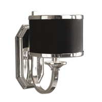 Uttermost 22442 Tuxedo 1 Light 7 inch Silver Plated Wall Sconce Wall Light