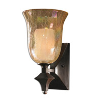 Uttermost Elba 1 Lt Wall Sconce in Lightly Distressed Spice 22467