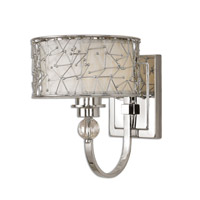 Brandon 1 Light 8 inch Nickel Plated Wall Sconce Wall Light