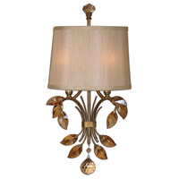 Uttermost Alenya 2 Light Wall Sconce in Burnished Gold 22487