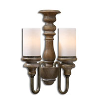 Uttermost Torreano Wall Sconce in Aged Pecan 22491