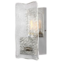 Cheminee 1 Light 6 inch Brushed Steel Wall Sconce Wall Light
