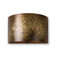Uttermost Wolcott 1 Light Wall Sconce in Light Gold 22500