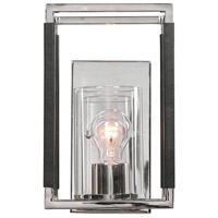 Uttermost 22527 Newburgh 1 Light 7 inch Polished Nickel Sconce Wall Light
