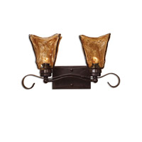 Uttermost Vetraio 2-Lt Vanity Strip in Oil Rubbed Bronze 22800