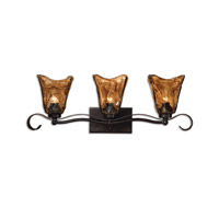 Uttermost Vetraio 3-Lt Vantity Strip Vanity Strip in Oil Rubbed Bronze 22801