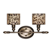 Uttermost Malawi Vanity Strip in Antiqued Silver 22862