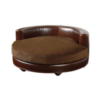 Uttermost 23053 Chiziana Chestnut Brown Pet Bed photo thumbnail