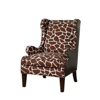 Uttermost 23055 Crevan Espresso And Cream Armchair photo thumbnail
