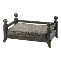 Uttermost Draylen Pet Bed in Antiqued Waxed Hickory 23093