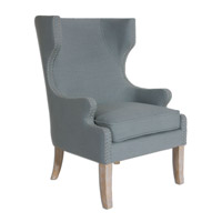 Uttermost Graycie Wing Chair 23136