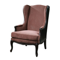 Uttermost Skipton Wing Chair in Leather 23153