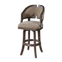 Uttermost Onora Barstool in Weathered 23154