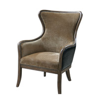 Uttermost 23158 Snowden Wing Chair