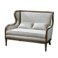 Uttermost Neylan High Back Loveseat 23160