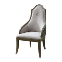 Uttermost 23161 Sylvana Gray Accent Chair