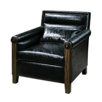 Uttermost Ormond Armchair in Leather 23164