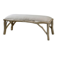 Uttermost Amory Wooden Bench 23166