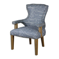 Citographie Gray Linen Armchair Home Decor