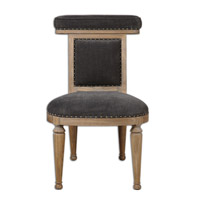 Uttermost Tyrah Accent Chair in Velvet 23169