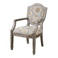 Valene Weathered Accent Chair Home Decor