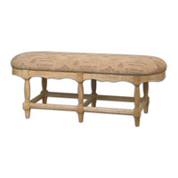 Uttermost LArtiste Armless Bench 23177