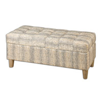 Uttermost Brandis Storage Bench 23178