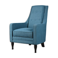 Uttermost Katana Arm Chair in Peakcock Blue 23192