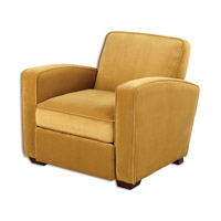 Uttermost Somac Arm Chair in Gold 23199