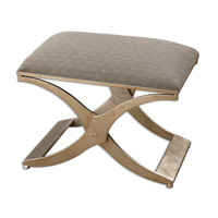 Uttermost Kiah Bench in Silver Leaf 23207
