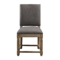 Uttermost 23215 Laurens Gray Accent Chair