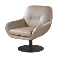 Uttermost 23266 Scotlyn Oil Rubbed Bronze Swivel Chair thumb