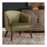 Conroy Dark Walnut Accent Chair Home Decor