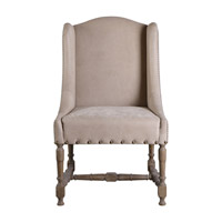 Lyra Leather Accent Chair Home Decor