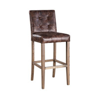 Julian Dark Chocolate Bar Stool Home Decor