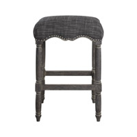 Aiden Brown Gray Bar Stool Home Decor, Jim Parsons