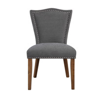 Ruhls Gray Armless Chair Home Decor, Matthew Williams