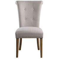 Lucasse Oatmeal and Sadalwood Dining Chair Home Decor