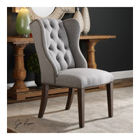 Jonna Slate Gray Accent Chair Home Decor