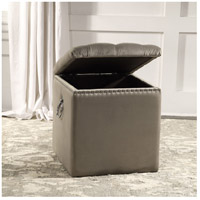 Uttermost 23455 Talullah 19 inch Champagne Velvet and Polished Nickel Storage Ottoman 23455_A3.jpg thumb