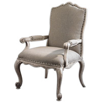 Uttermost Jonas Armchair in Antique Bone 23602