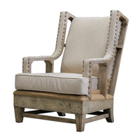 Uttermost Schafer Armchair in Linen 23615